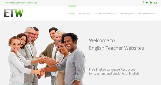 English Teacher Websites