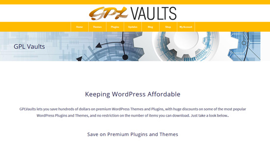 GPL Vaults - WordPress GPL Downloads